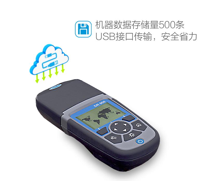 DR900光电比色计数据存储量达500条